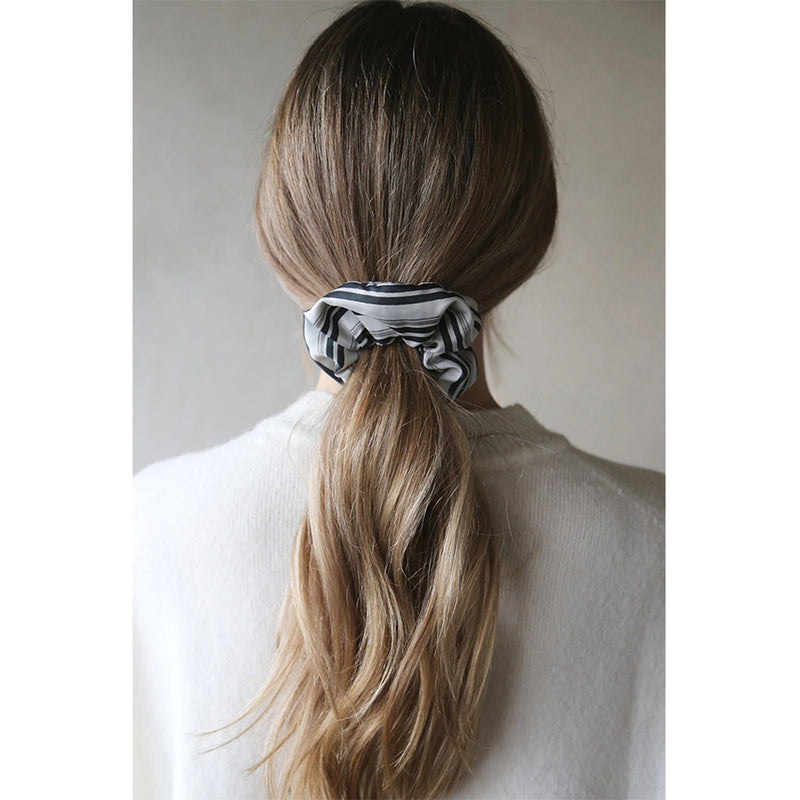 Spring Summer Polyester Soft Hair Tie Scrunchie