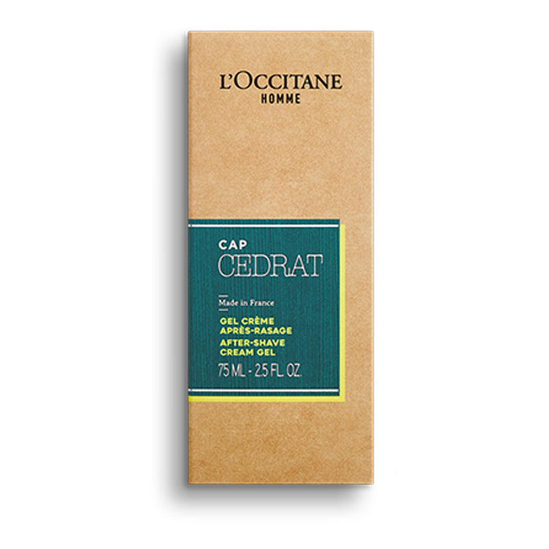 Men's Gel After Shave Cedrat Scent Moisturising Green Tube