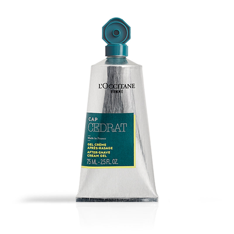 75ml Cap Tube Gel After Shave Cedrat L'Occitane Gift Christmas