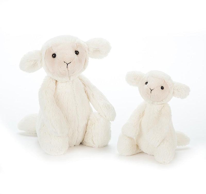 Small Bashful Lamb Stuffed Animal from Jellycat Toys