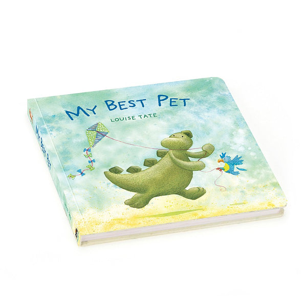 Kids My Best Pet Dinosaur Book from Jelllycat Toys