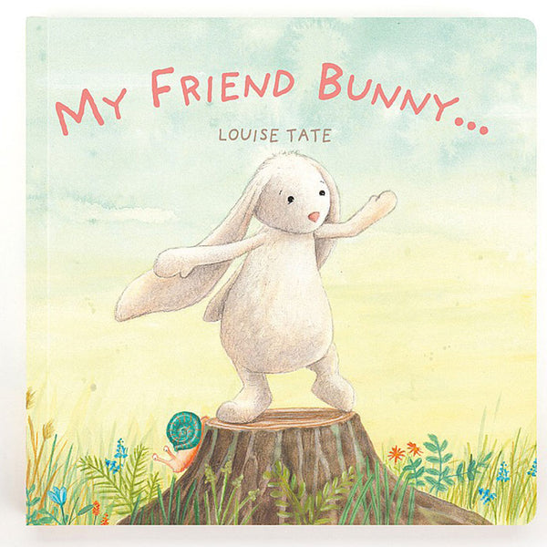 Jellycat My Friend Bunny Book