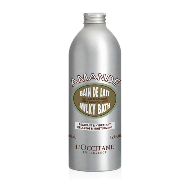 Milky Almond Foaming Bath By L'Occitane