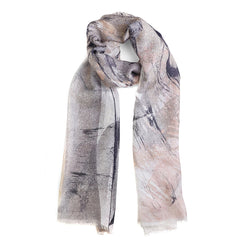 Pink Purple Tutti Beachcomber Scarf For Women