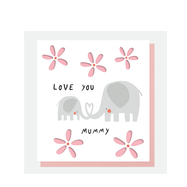Caroline Gardners Elephant Mothers Day Card
