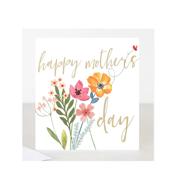 Caroline Gardner Flowers Mothers Day Card