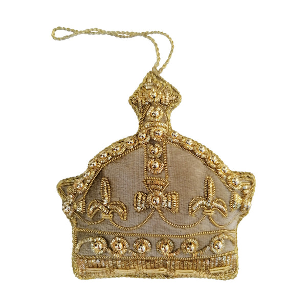 Golden Crown Christmas Tree Decorations By Tinker Tailor Gift