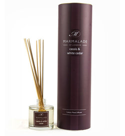 Marmalade of London Cassis And white Cedar Reed Diffuser & Gift Box
