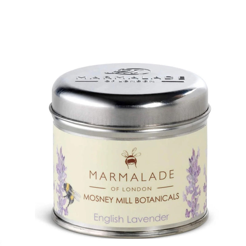 Marmalade of London Mosney Mill Medium Tin Candle In English Lavender