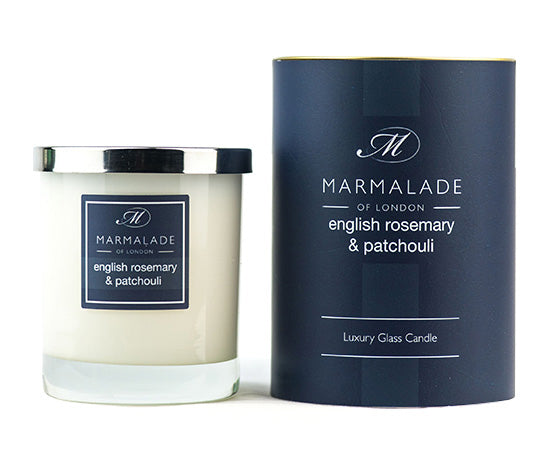 English Rosemary, Patchouli and cold pressed Italian Bergamot combine to create an invigorating and refreshing fragrance.
