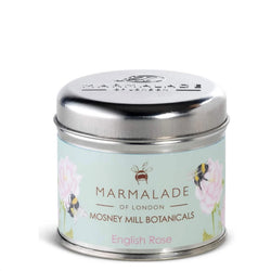 Marmalade of London Mosney Mill Medium Tin Candle In English Rose