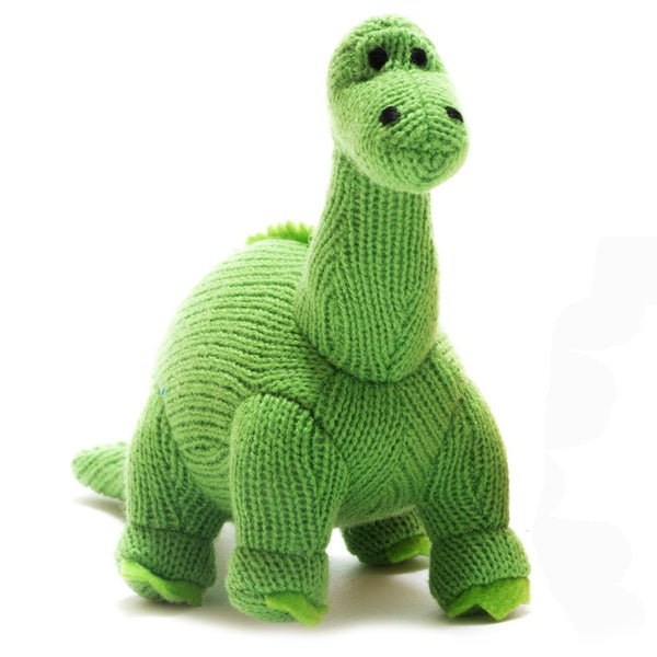 Best Years Mini Diplodocus Rattle In Green