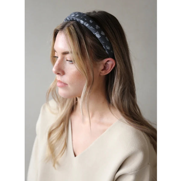 Winter Hair Accessory Grey and White Tutti Collection
