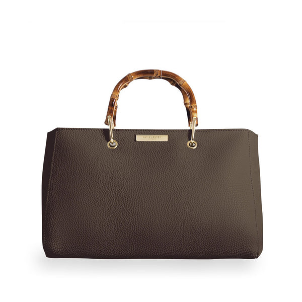 Brown Bamboo Avery Bag By Katie Loxton