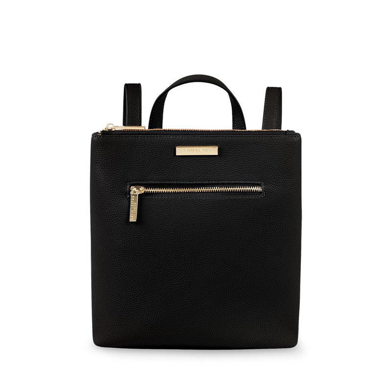 Black Mini Brooke Backpack By Katie Loxton In Black For Her