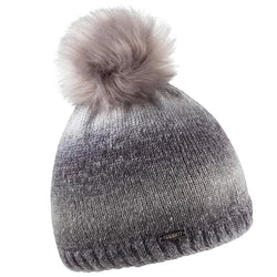 Sabbot Karla Bobble Hat In Grey Mix