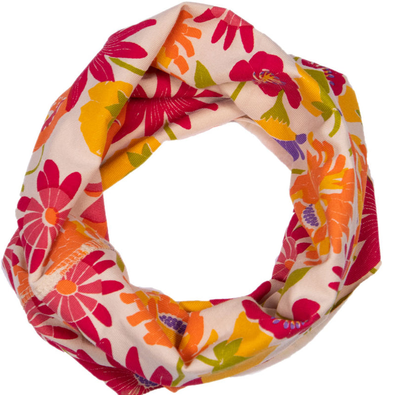 Retro Floral Scarf Multiway Band from Powder UK
