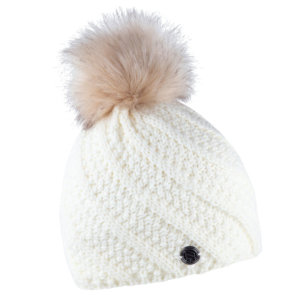 Sabbot Marta Bobble Hat In White