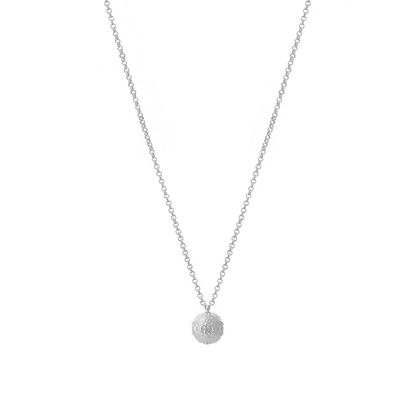 Silver Tutti Orb Necklace Sparkle Gift