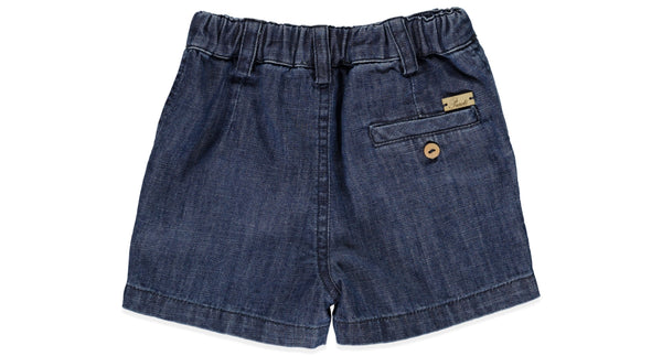 Soft Denim Baby Short by Purete Portugal