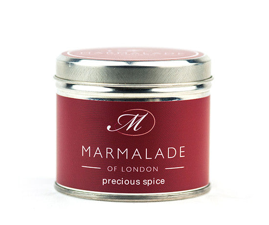 Marmalade of London Precious Spice Medium Tin Candle