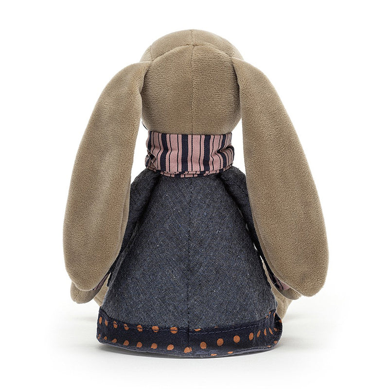 Cute Bunny Gift Present Child Floppy Ears Winter Brown
