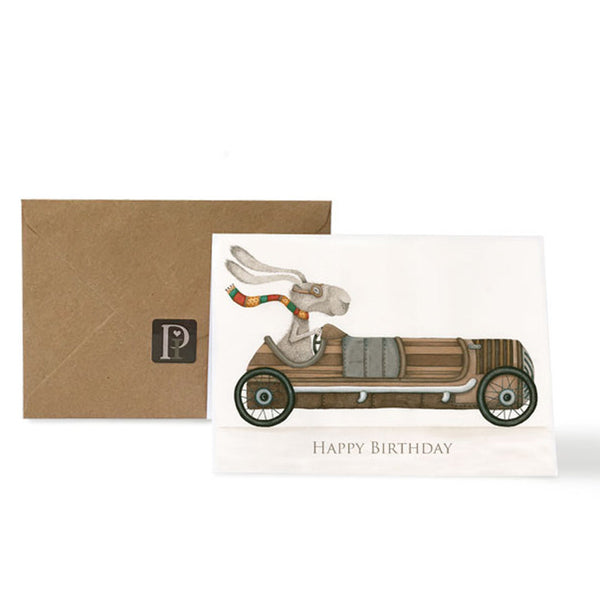 Pippyink Blank Card  Happy Birthday 'Racing Car Ralph'