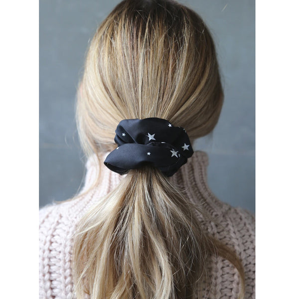 Winter Scrunchie Hair Accessory Present Polyester
