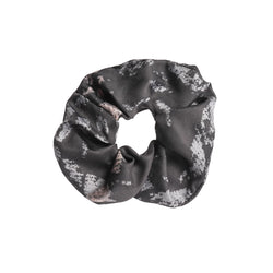 Echo Scrunchie By Tutti In Grey, Navy and Stone Hair Style