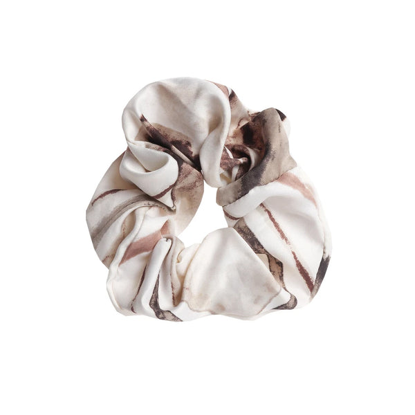 Scrunchie Tutti Tideline Hair Neutral Tones Gift White