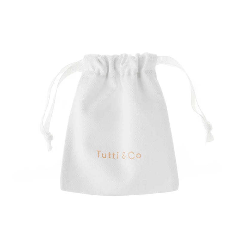 Tutti White Jewellery Gift Bag