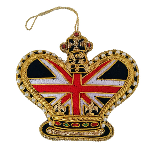 Christmas Tree Decoration By Tinker Tailor Union Jack