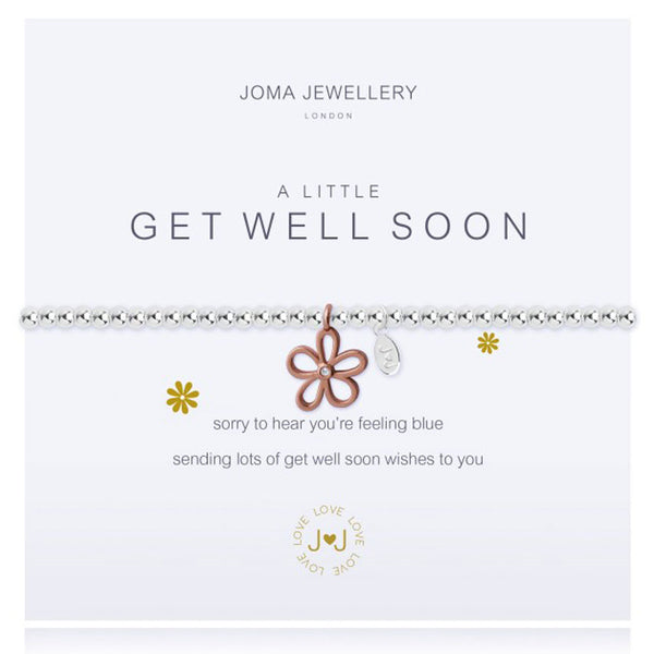 Joma A Little Get Well Soon Bracelet In Silver