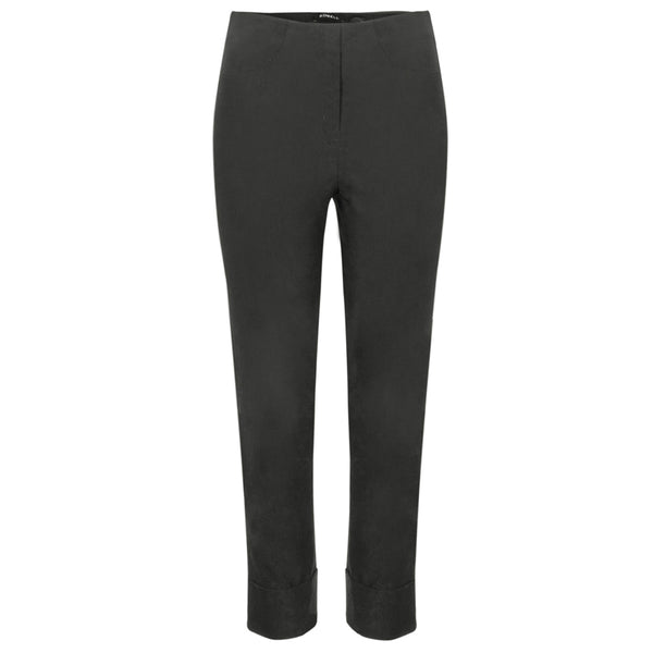 Robell 09 Bella Stretch Trouser In Anthracite