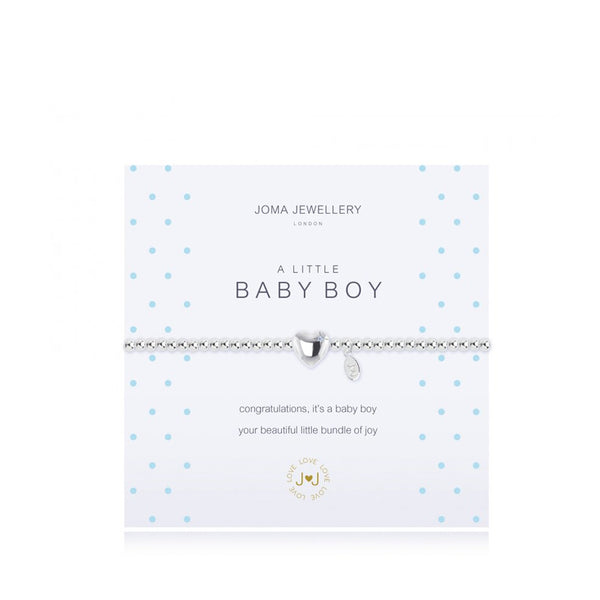 Joma A Little Baby Boy Bracelet In Silver