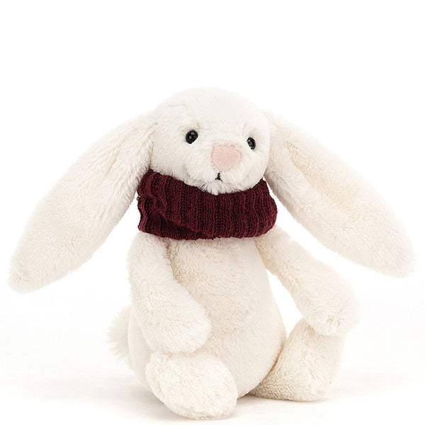 Bashful Snug Bunny Berry Christmas Toy by Jellycat