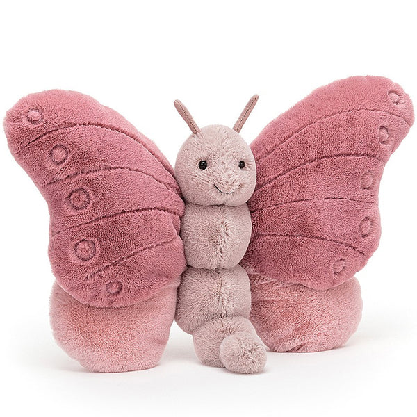 Rosy Pink Beatrice Butterfly By jellycat