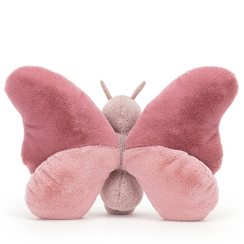 Soft, Pink Butterfly Toy By Jellycat