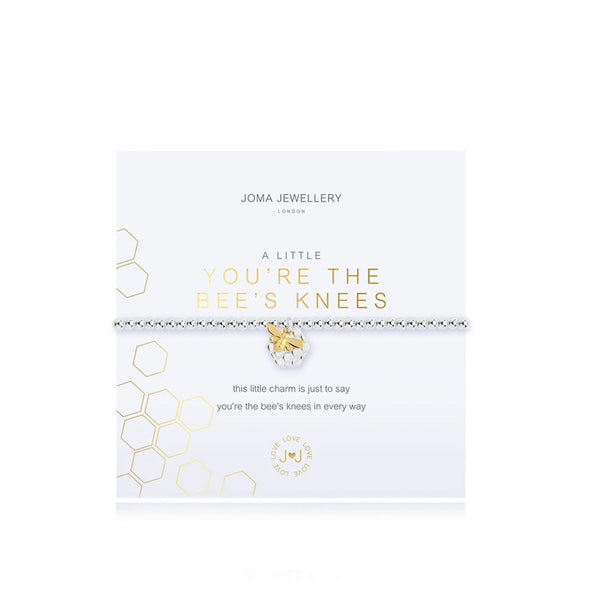 Joma You're The Bee's Knees Bracelet In Silver