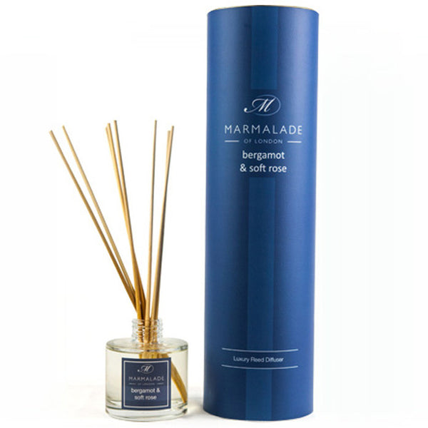 Marmalade of London Bergamot & Soft Rose Reed Diffuser & Gift Box