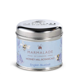Marmalade of London Mosney Mill Medium Tin Candle In English Bluebell