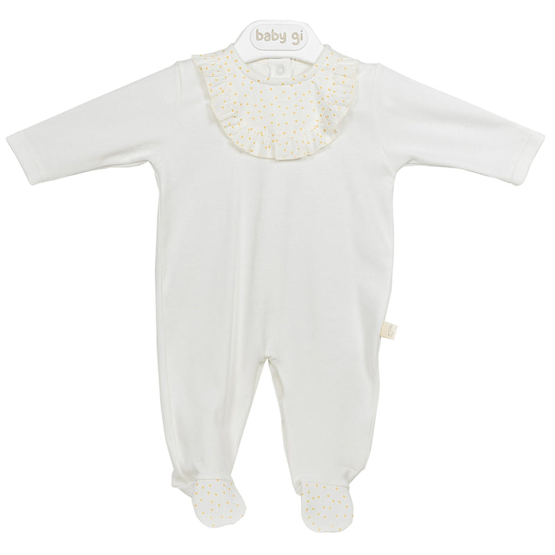 White All-in-One Baby Suit from Baby Gi