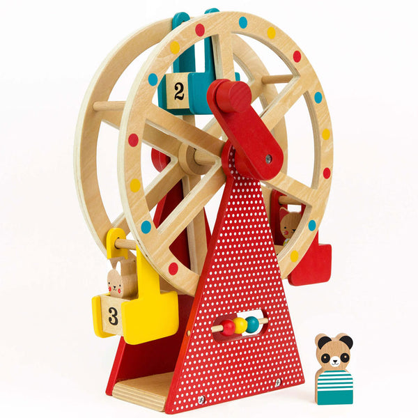 Children Wooden Ferris Wheel Toys by Petit Collage Toymaker Brand