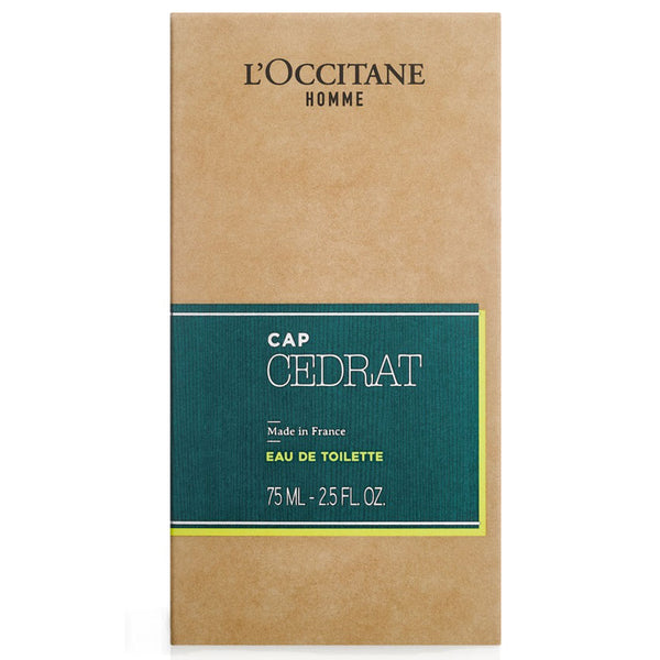 Cap Cedrat Eau De Toilette Spray from L'Occitane Homme