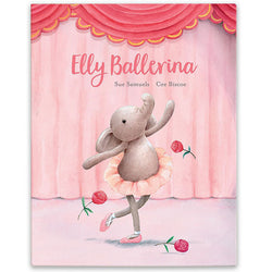 Elly Ballerina Childrens Story Book by Jellycat