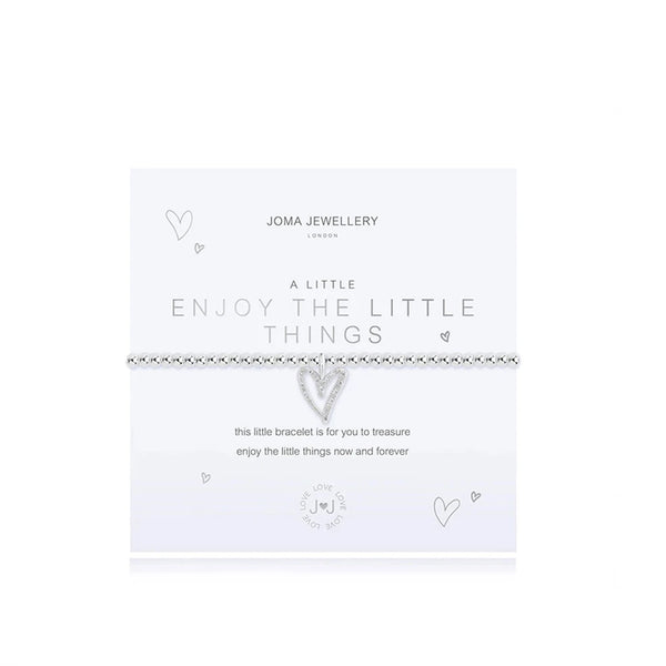 Enjoy The Little Things Bracelet By Joma Jewellery