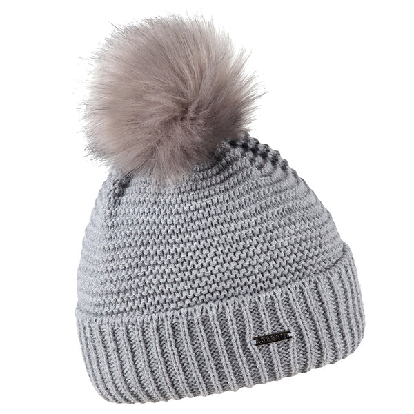 Sabbot Eva Bobble Hat In Grey