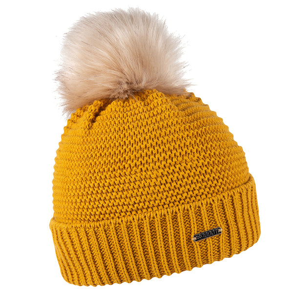 Sabbot Eva Bobble Hat In Mustard