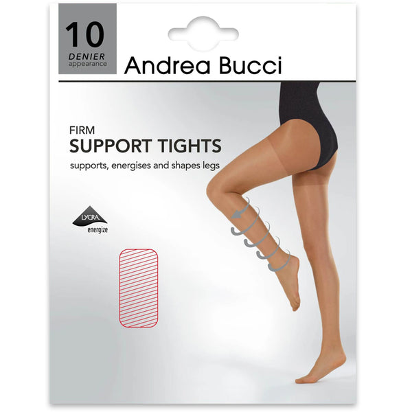 Andrea Bucci 10 Denier Firm Support Tights In Nude
