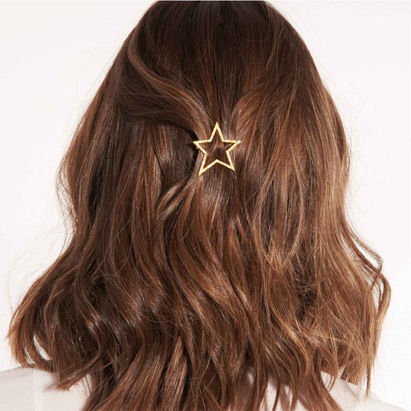Pave Star Hair Clip By Joma Jewellery